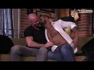 Mature dads david benjamin and mitch vaughn banging