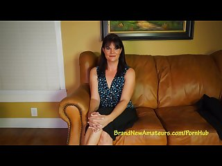 Brand new amateurs milf mckayla auditions during lunch