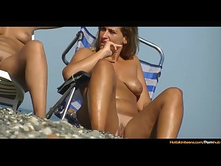 Nude beach milfs voyeur spy hd video teaser