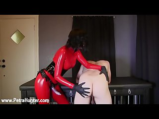 Spanked probed and pegged