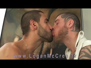 Alejandro dumas and Logan mccree as his fluffer www loganmccree tv