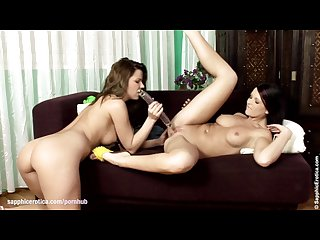 Sizzling vixens by sapphic erotica lesbian love porn with Peaches jasmi