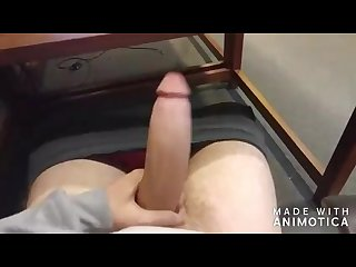 Watch me have fun with my big white cock