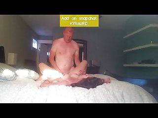 Sexy brunette milf fucks her boss
