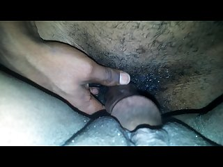 Sticky wet now let me cum on your dick