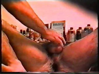 Hidden cam hairy massage