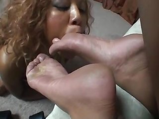 Worship service of feet 3