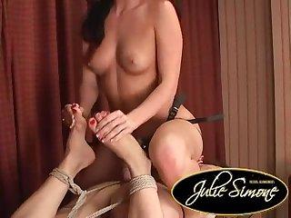 Lena ariel bound feet