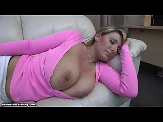 Pink shirt boobs out sleeping demi scott