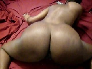 Ebony couple having wild sex