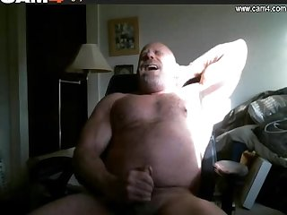 Cam4 hot silver beefy daddy 2