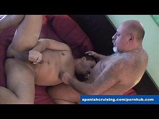 Horny Latinos blowing dicks