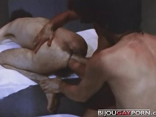 Classy gay fisting orgy from drive 1974