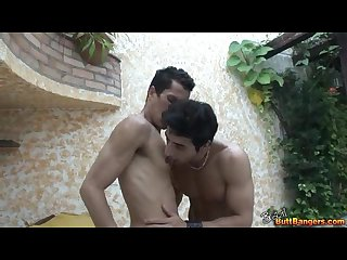 Latin men nipple licking scenes