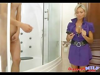 Dirty fucking russian milf