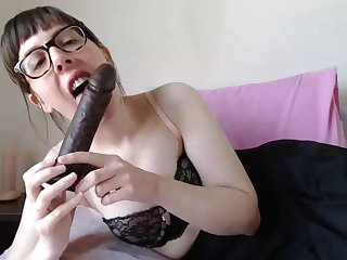 Hairy And Nerdy Girl Teasing