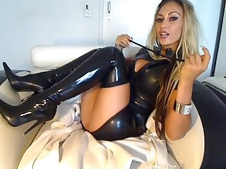 Latex stiefel G ttin