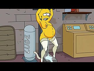 Simpsons porn adult Lisa simpsons fucked by sex machine and infalted