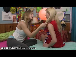 Blair williams seduced shy lesbian cheerleader