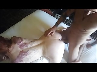 DAISY AND DADDY ON VACATION- CREAM PIE MILF TATTOO GLASSES PLUMP PUSSY