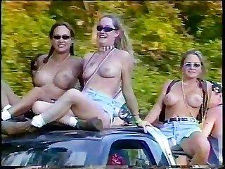 Biker girls going crazy 02 part 1