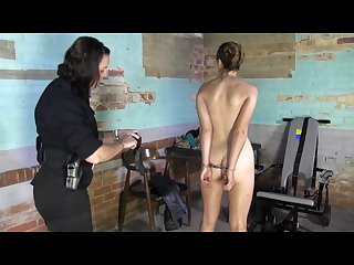 Strip search in jail