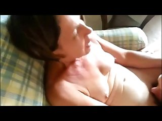 Cuckolding granny getting her mature pussy licked