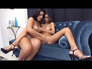 Hot latina lesbian kissing 001
