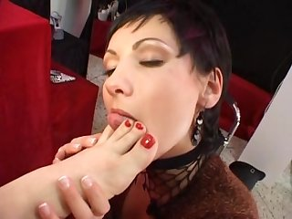 German lesbian foot fetish movie