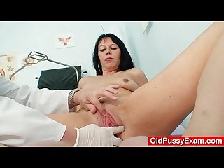 Hot domina lady performs filthy masturbation