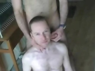 Horny slave at wotk
