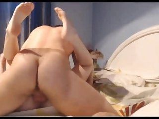 Check out this hot beefy stud fuck his lucky gf hot creamy facial