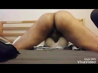 Big cock fucks toy pussy