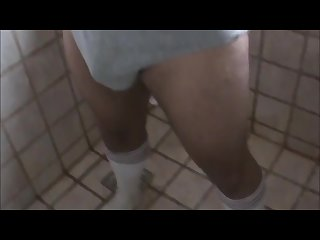 Pee underwear Drunk soccer friend dare