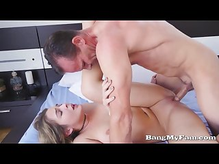 Step-Daddy Fucks His Daughter Blair Williams As Mommy Takes A Shower