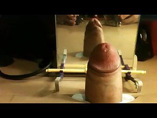 Big uncut dick fucking conveniently sized hole in desk 01