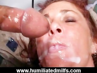 Cum covered whore keeps on fucking