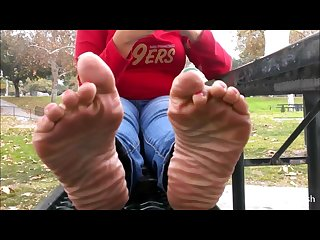 Brittany s wrinkled thick soles