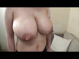 Wife s huge lactating boobs 1
