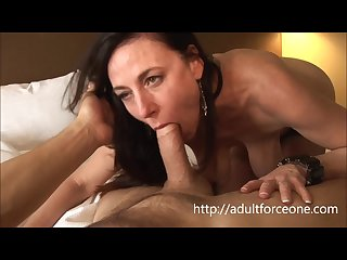 Horny milf karen kougars loves to take it up her ass