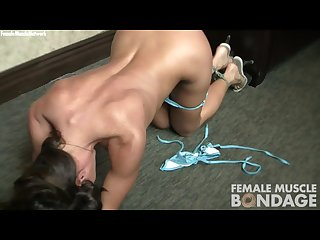 Ariel x is bound and naked