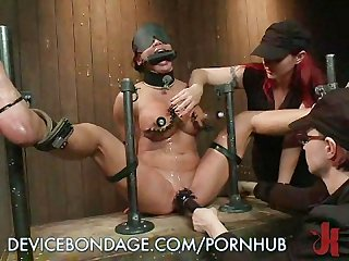 Dominatrix loves tight wet pussy