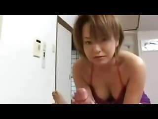 Jav Mother swallow son cum