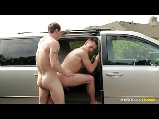 Next door buddies naughty cab ride