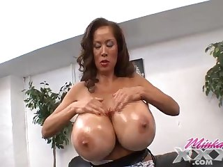 Minka big asian tits