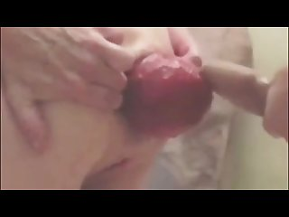 Dirty Mature Woman With Huge Prolapsed Ass Fucked Hard from Behind
