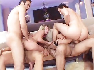 Teen summer gang bang scene 1