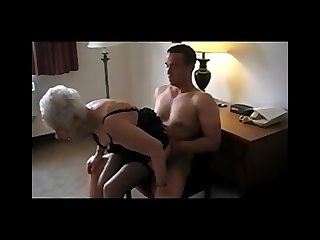 89 Yr. Old Granny Fucked hard and scream