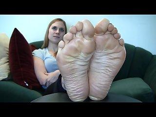 Hot blonde soles