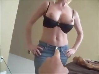 Super sexy mom and young boy